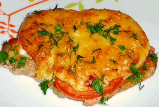 Мясо по французски рецепт классический с помидорами