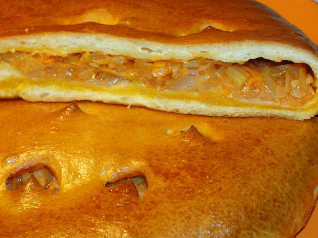постные пироги рецепты с капустой
